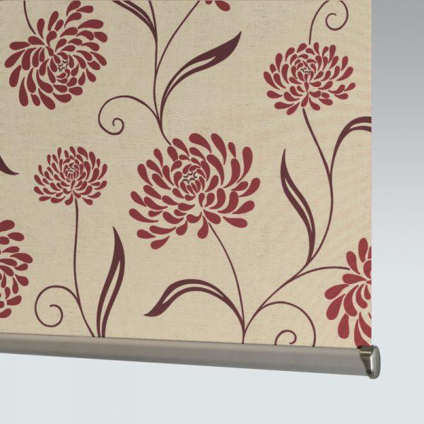 Roller Chrysanth Scarlet