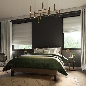 Chic Bedroom_R_Hudson Oyster C_Rumi Silver